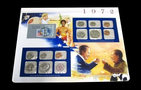 41: 1972 US Uncirculated Mint Set Coins