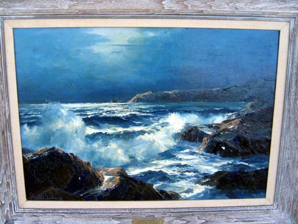 2: Bennett Bradbury Signed Original Oil Painting