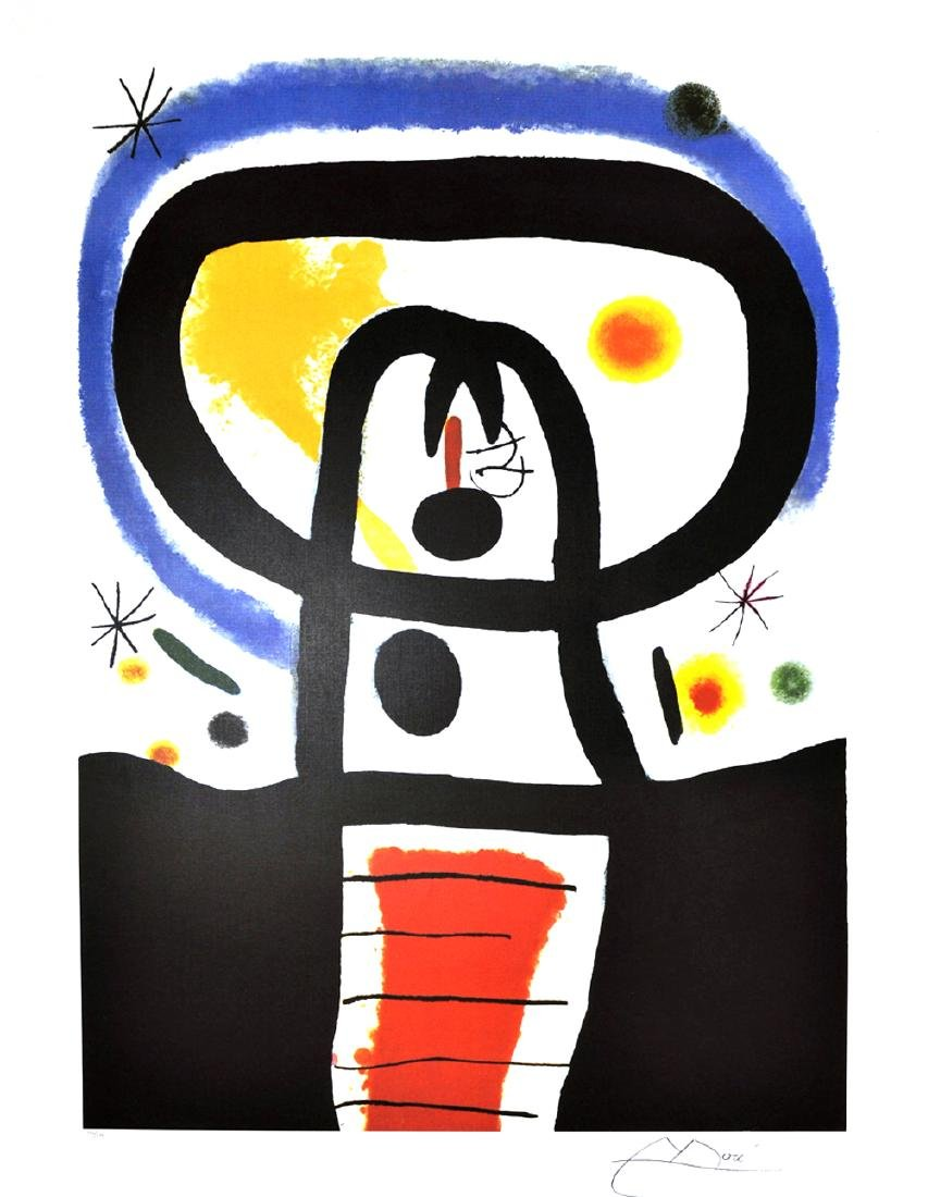 JOAN MIRO Equinox Lithograph, 353 of 500