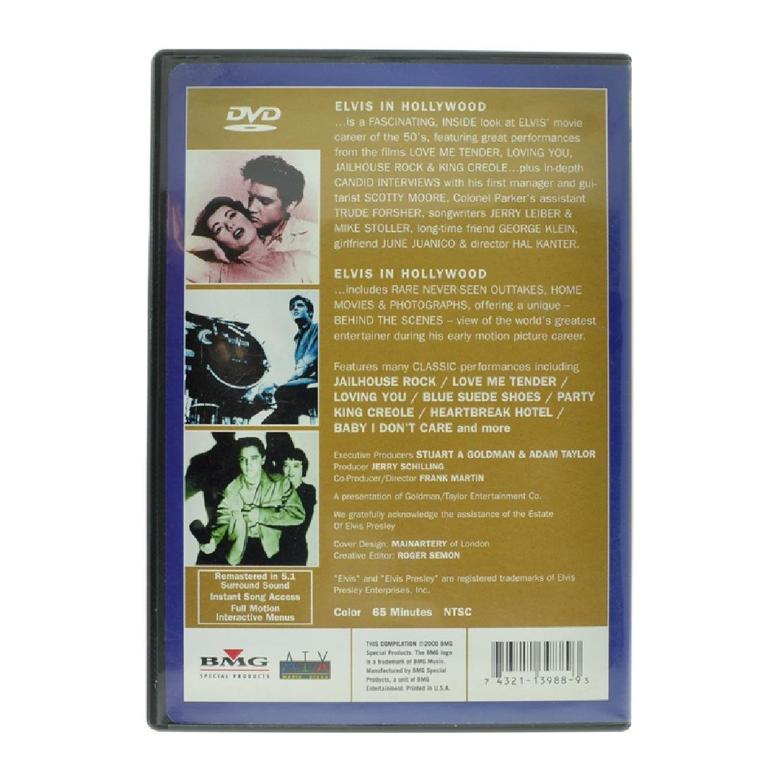 Elvis Presley Movie: Elvis In Hollywood - 2