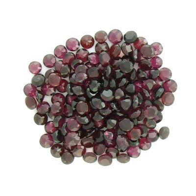1903: 50.00CT Round Garnet Parcel-Investment Gemstones