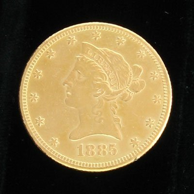 3016: 1885 $10 Coronet Gold Coin - Investment Potential