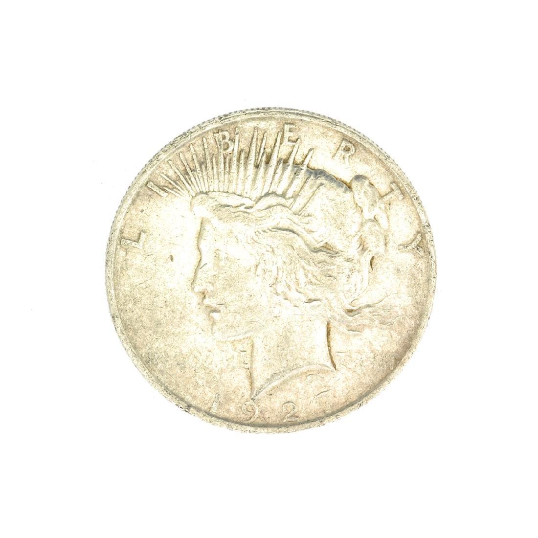 1923-D U.S. Peace Type Silver Dollar Coin