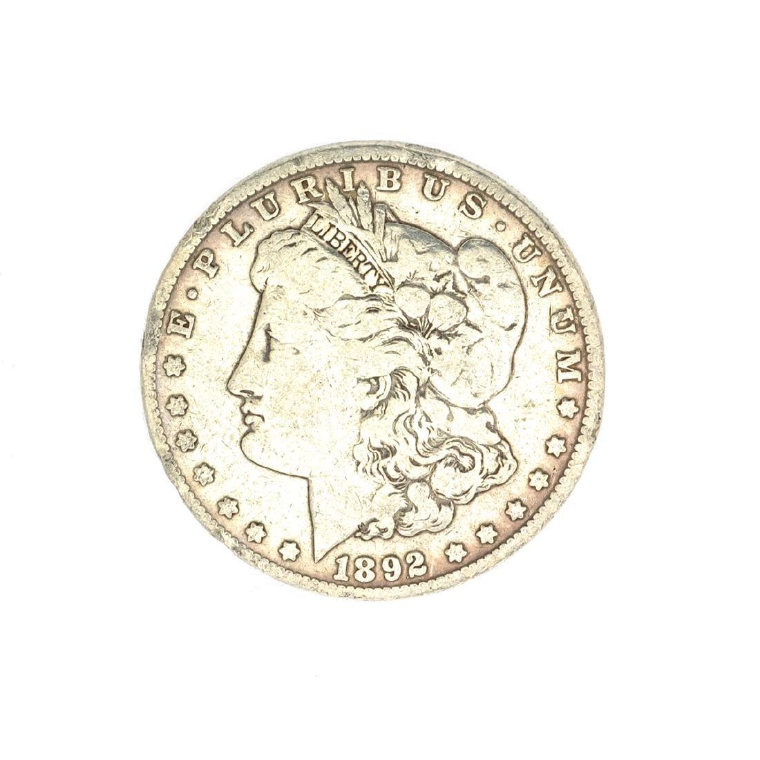 1892-O U.S. Morgan Silver Dollar Coin