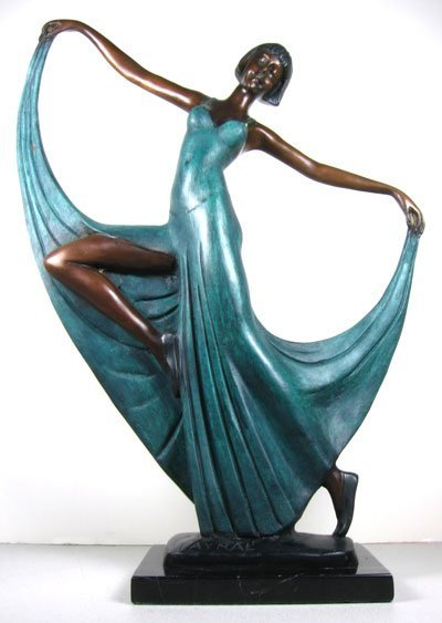 1634: Dancing Lady Sculpture-Collectable