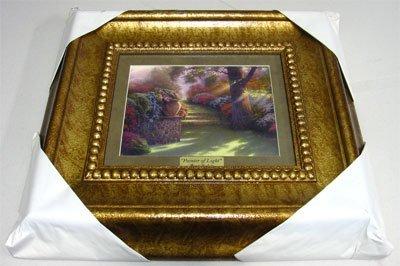 1887: THOMAS KINKADE Museum Framed Calendar Print-Colle