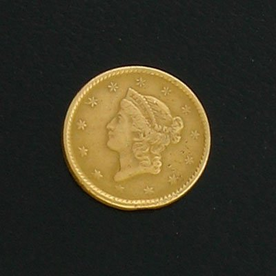 1897: 1851$1 US Liberty Gold Coin-Investment Potential