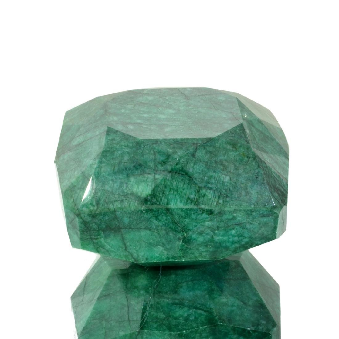 APP: 9.6k 1,915.50CT Emerald Cut Green Beryl Emerald