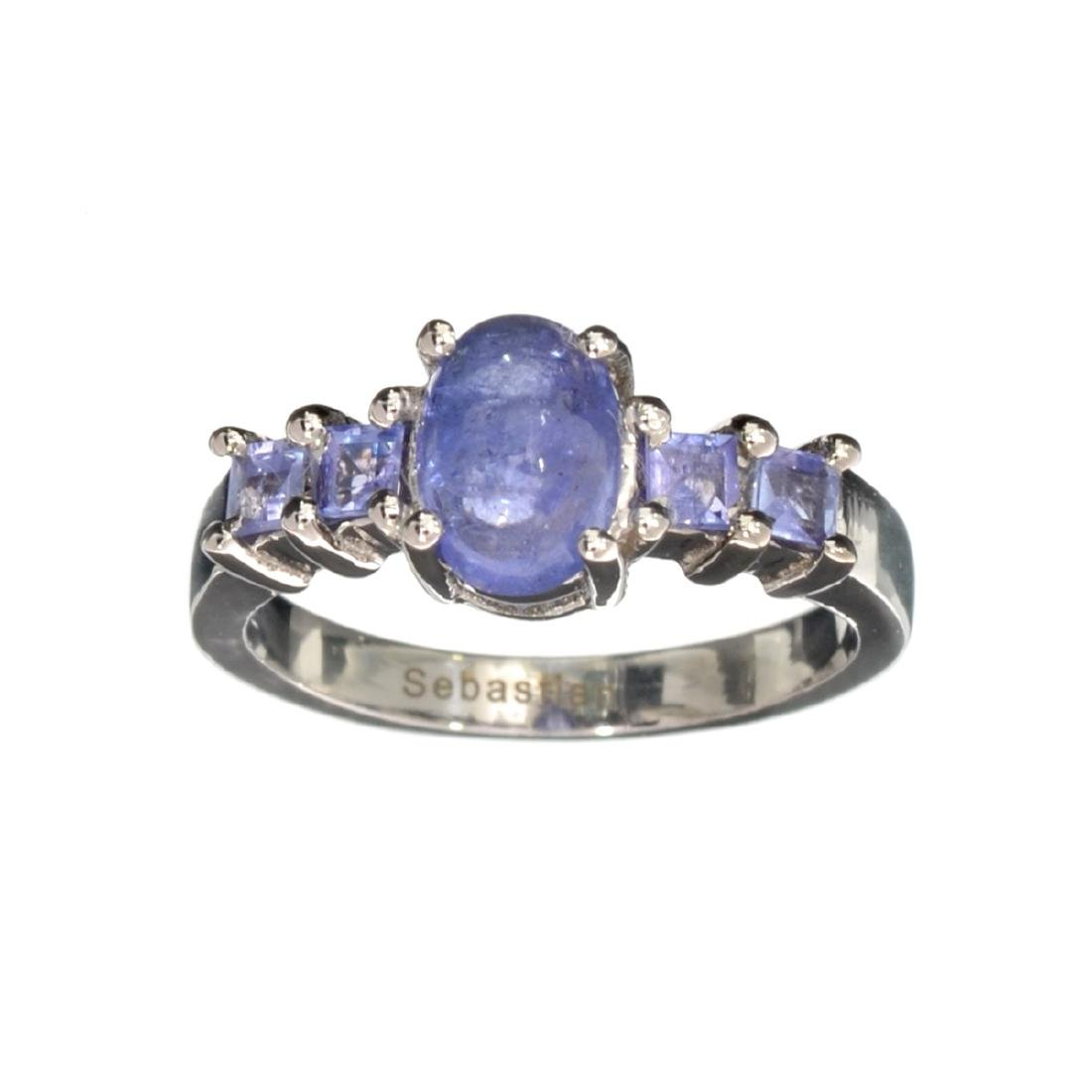 APP: 1k Fine Jewelry 1.40CT Oval Cut Tanzanite And