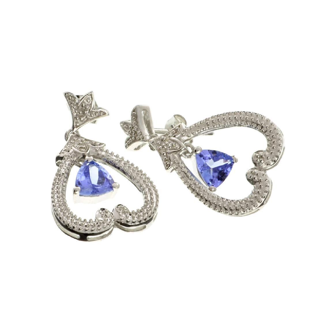 APP: 2k Fine Jewelry 1.00CT Tanzanite And Diamond