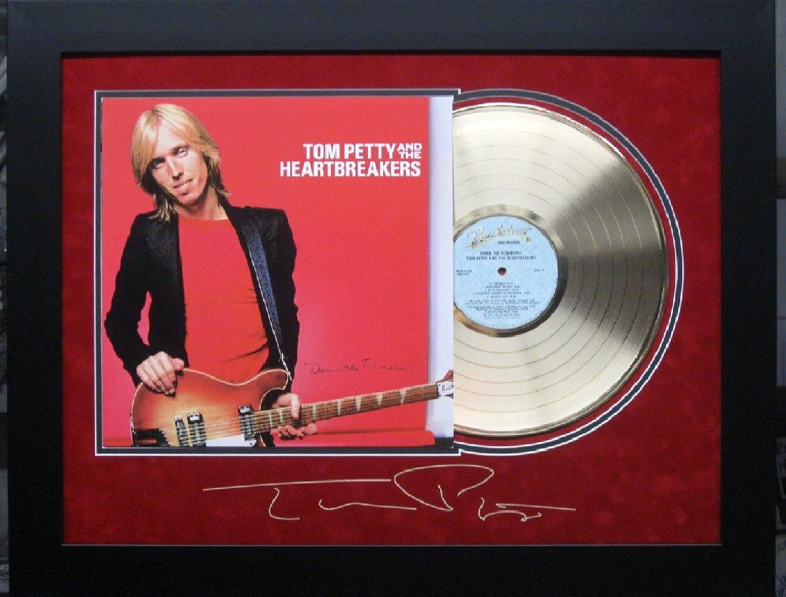 *Rare Original Tom Petty Laser Engraved Record