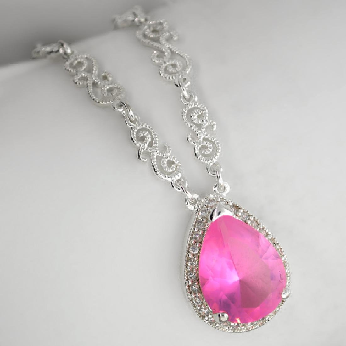 Fancy Colored French Cubic Zirconium Sterling Silver