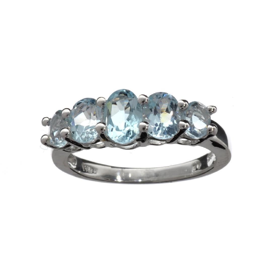APP: 0.5k Fine Jewelry 1.75CT Oval Cut Blue Topaz And