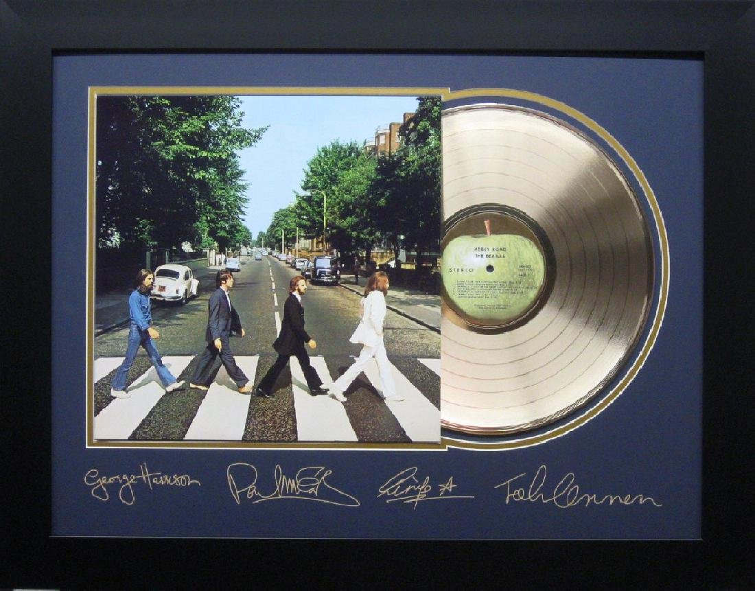 *Rare Original The Beatles Laser Engraved Record