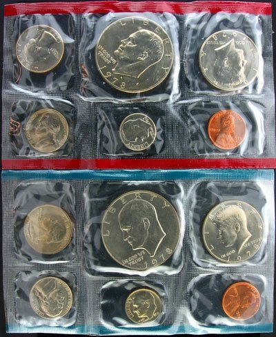 6: 1978 US Mint Uncirculated Coin Set - Investment Pote