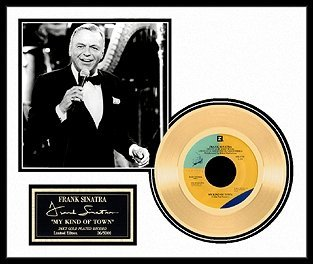 16: FRANK SINATRA ''My Kind of Town'' Gold Record - Fan