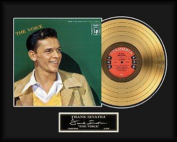 22: FRANK SINATRA ''The Voice'' Gold Record - Fan Favor