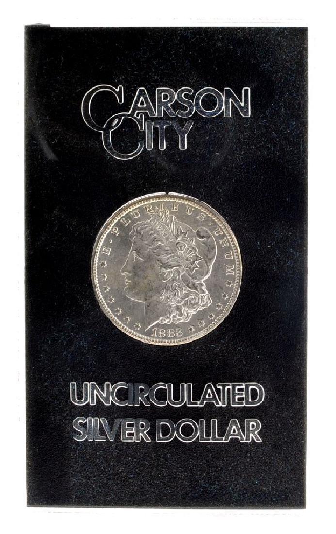 1883-CC Morgan Silver Dollar In Box Coin