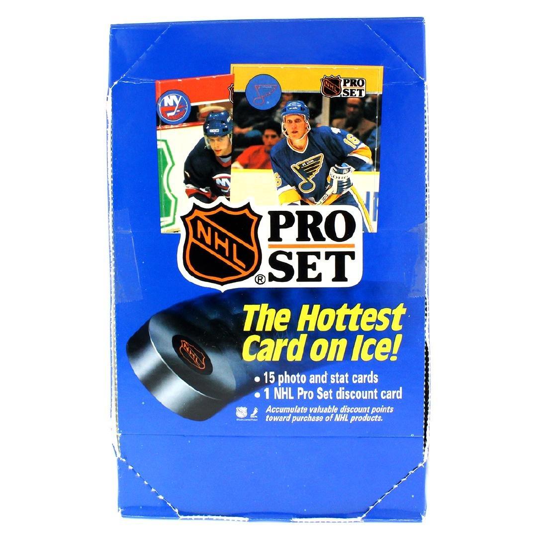 Rare 1990 Box Pro Set NHL Cards Over 500 Cards Per Box