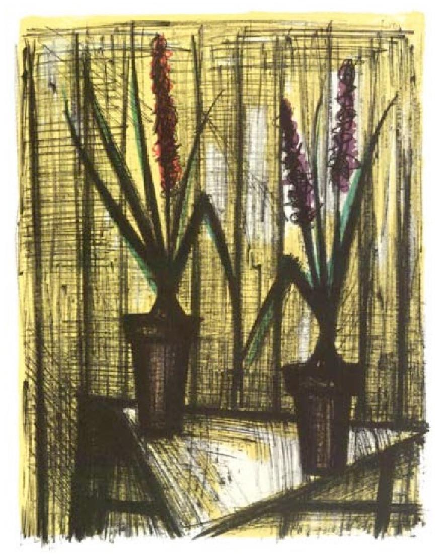 Bernard Buffet Lithograph ''''Jacinthes'''' 18 x 24