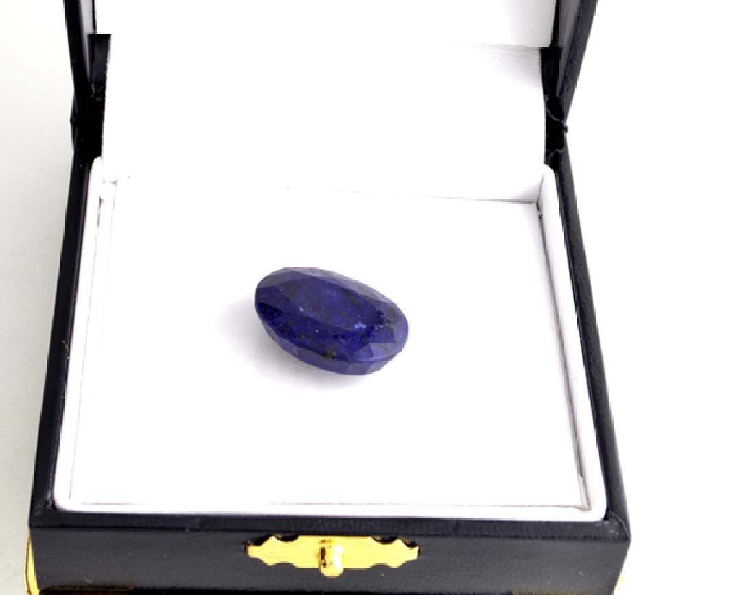 APP: 1.3k 25.56CT Oval Cut Blue Sapphire Gemstone