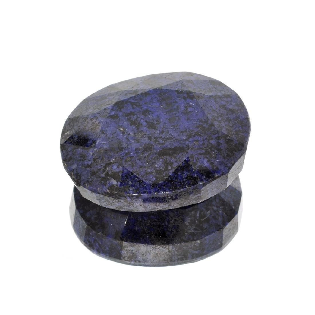 APP: 1.6k 657.35CT Oval Cut Blue Sapphire Gemstone