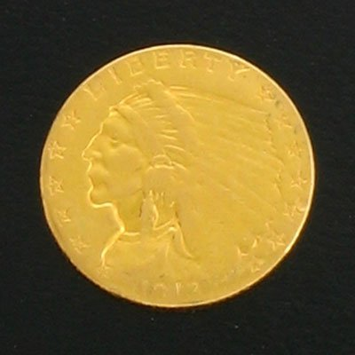 1910: 1913 $2.5 Indian Head Gold Coin-Investment Potent