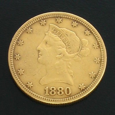 1920: 1880 $10 US Coronet Gold  Coin-Investment Potenti
