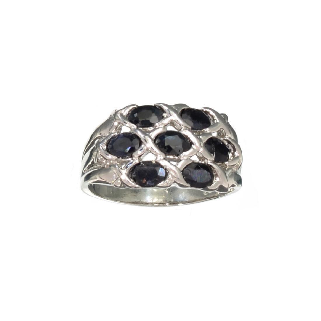 APP: 0.7k Fine Jewelry 1.50CT Oval Cut Blue Sapphire