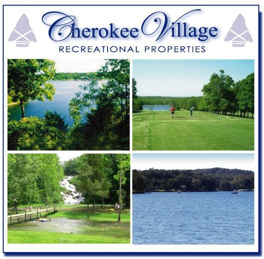 9: GOV: AR LAND, CHEROKEE VILLAGE, LAKE, REC, STR SALE