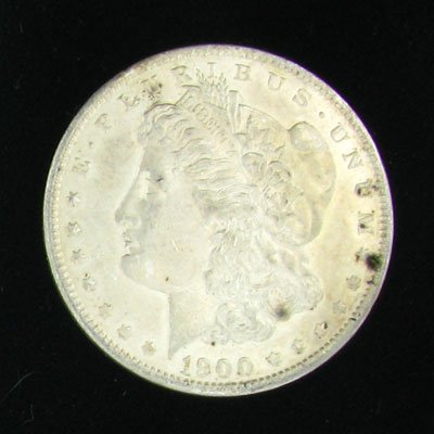 760: 1900 Silver Dollar Coin - Investment Potential
