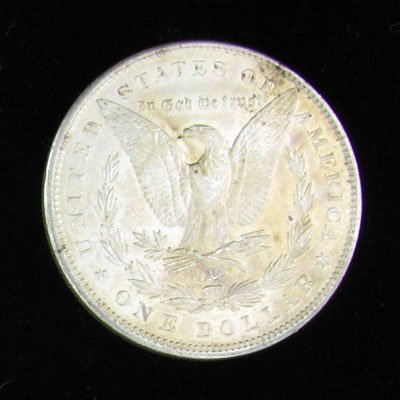 760: 1900 Silver Dollar Coin - Investment Potential - 2