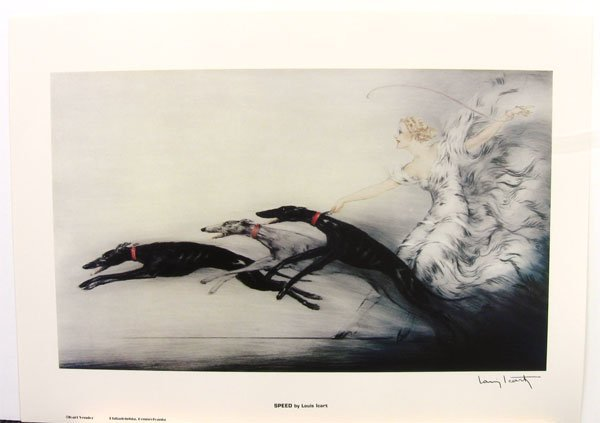 2919: LOUIS ICART Speed Print, Collect