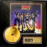 2925: KISS ''Destroyer'' Gold CD - Fan Favorite