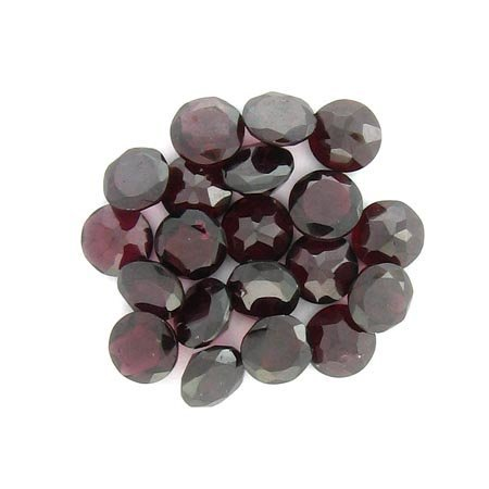 2908: 50.10CT Round Garnet Parcel - Gemstone Investment