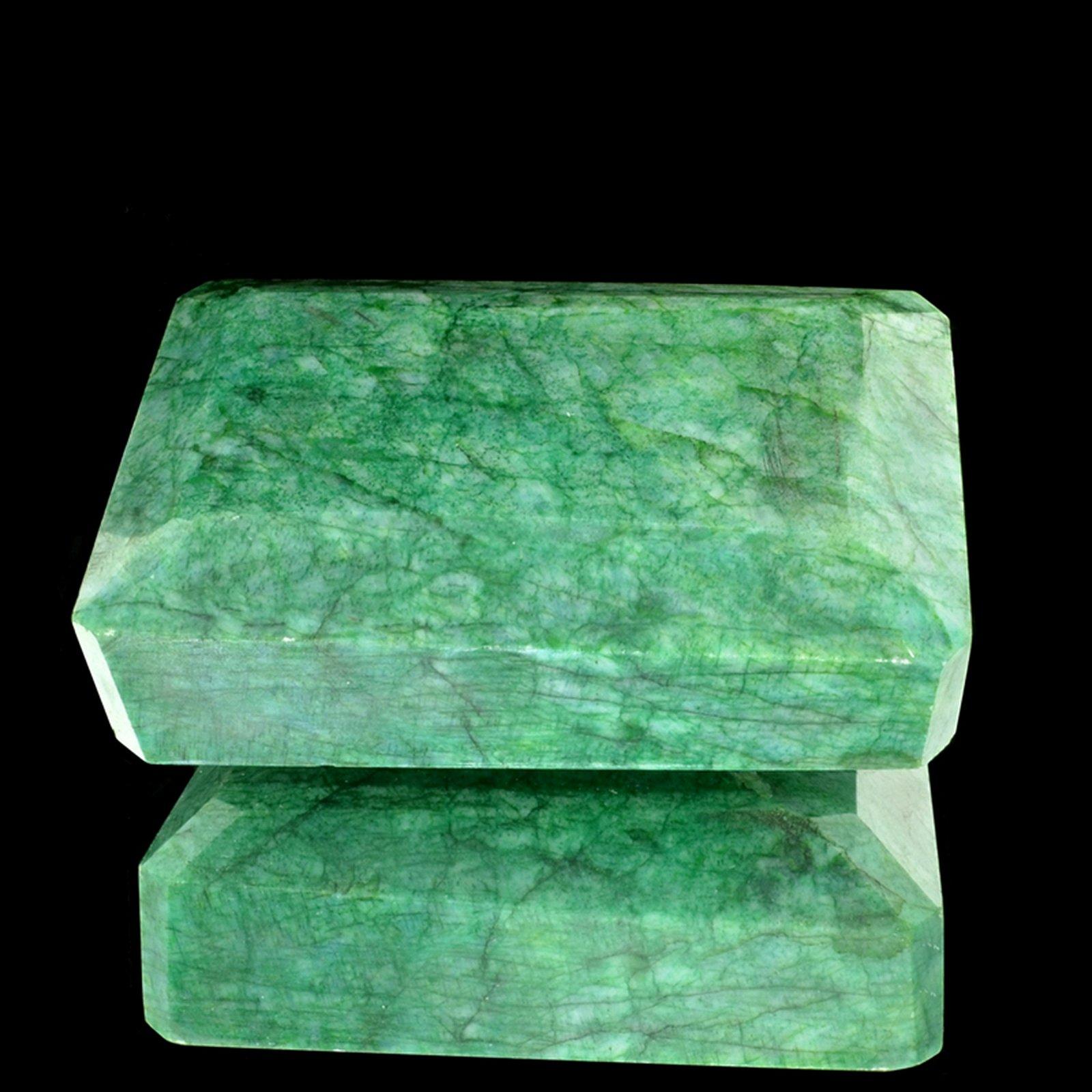 APP: 7.8k 1,955.00CT Emerald Cut Green Beryl Emerald