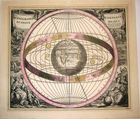 215: Cellarius, Map Print - 1660 Amsterdam - Collect