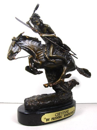 2014: Frederic Remington - Cheyenne, Bronze Collect!