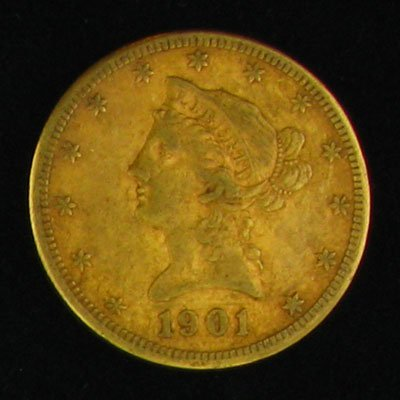 2020: 1901-S $10 US Gold Coin - Investment Potential