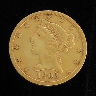 2026: 1903-S $5 US Gold Coin - Investment Potential