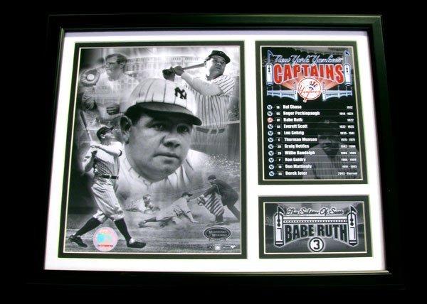 2303: Framed Sports Memorabilia - Collect