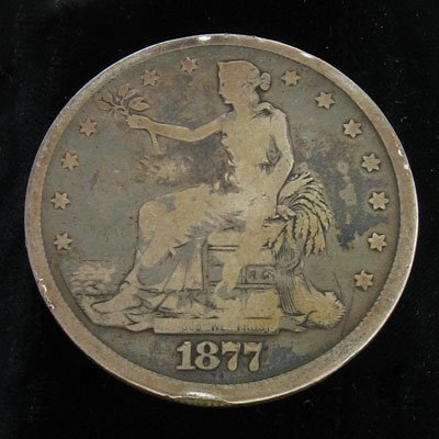 2317: 1877 Trade Dollar Coin - Investment Potential