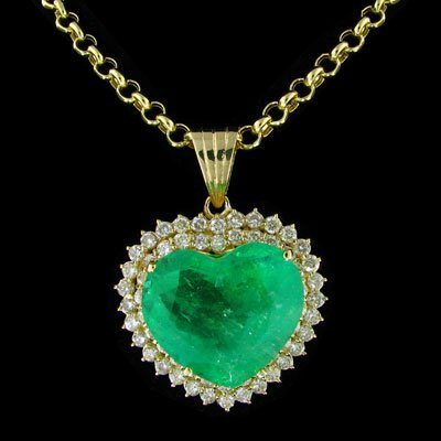 3823: APP: $317.9k 14 kt. Gold, 50.07CT Emerald and 5.0