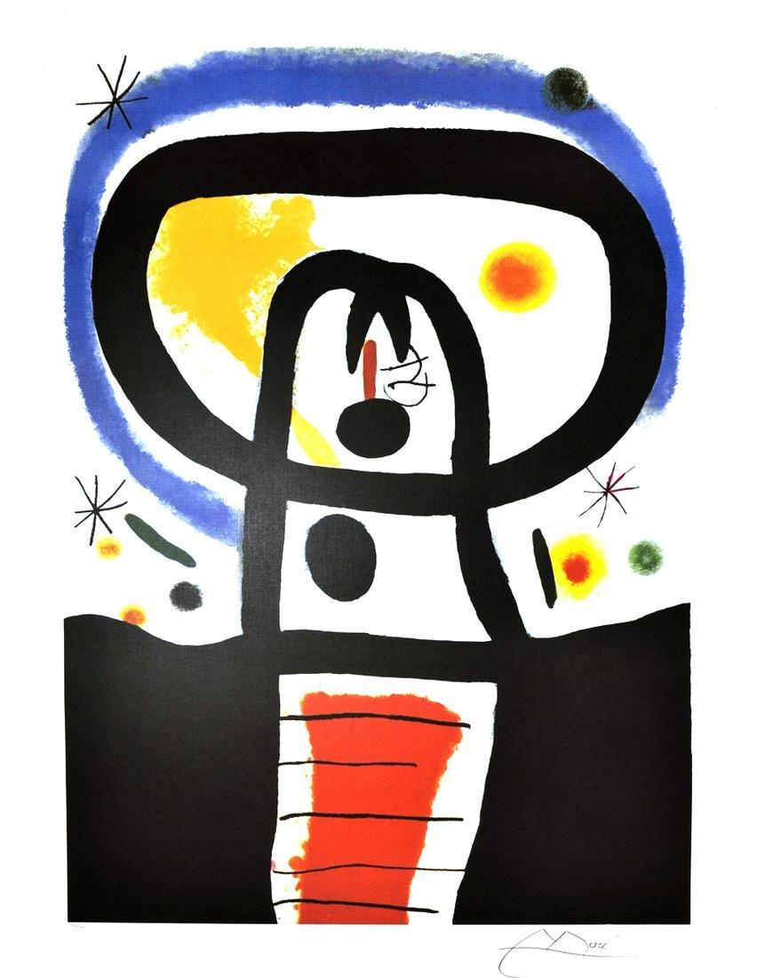 JOAN MIRO (After) Equinox Print, 230 of 500
