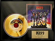 15: KISS Beth Gold Record, Fan Favorite-Collect