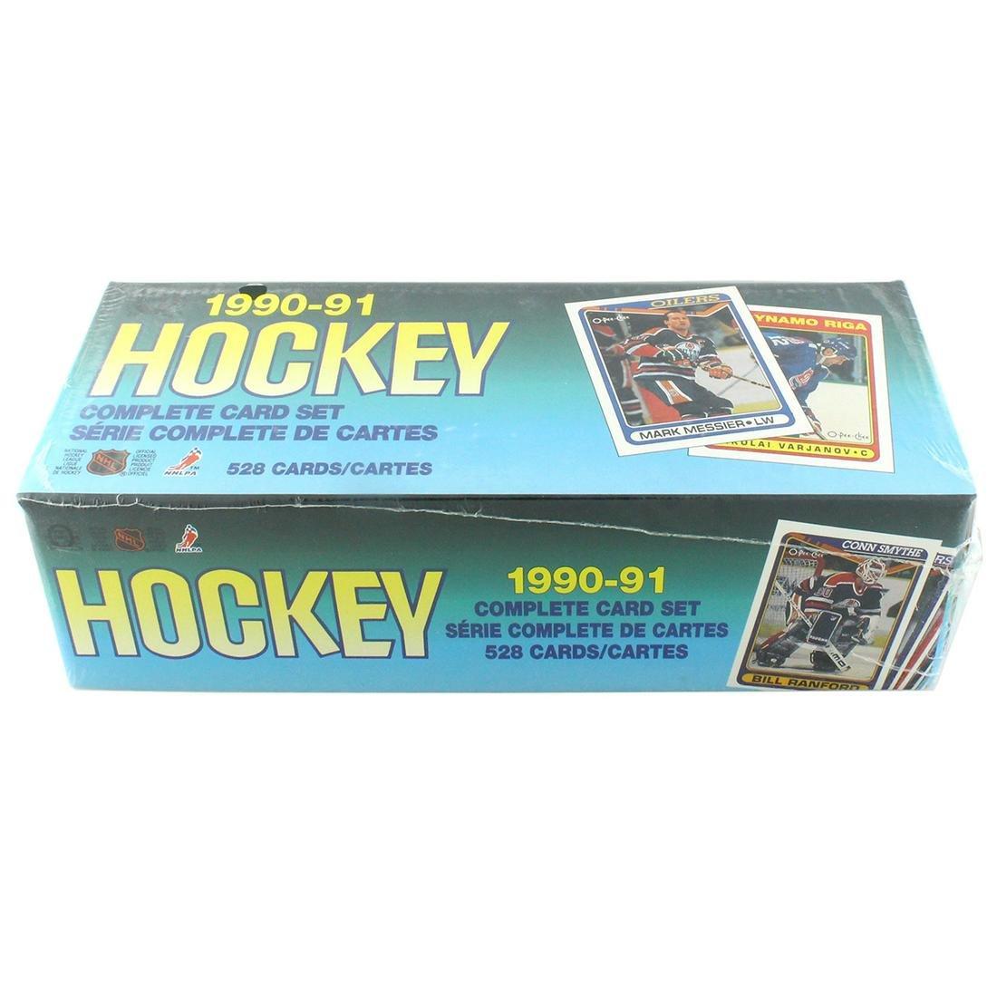 Rare 1990-91 Un-Opened Box Complete Card Set Hockey