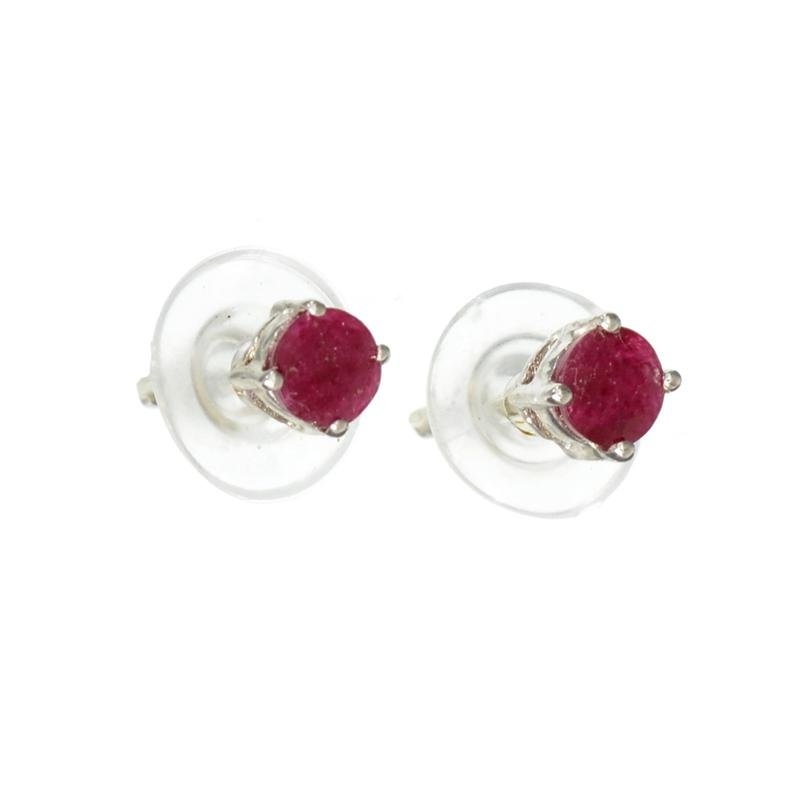 APP: 0.6k Fine Jewelry 0.50CT Round Cut Ruby And