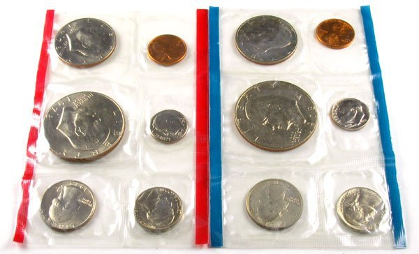 338: 1978 US Mint Uncirculated Coin-Investment Potentia