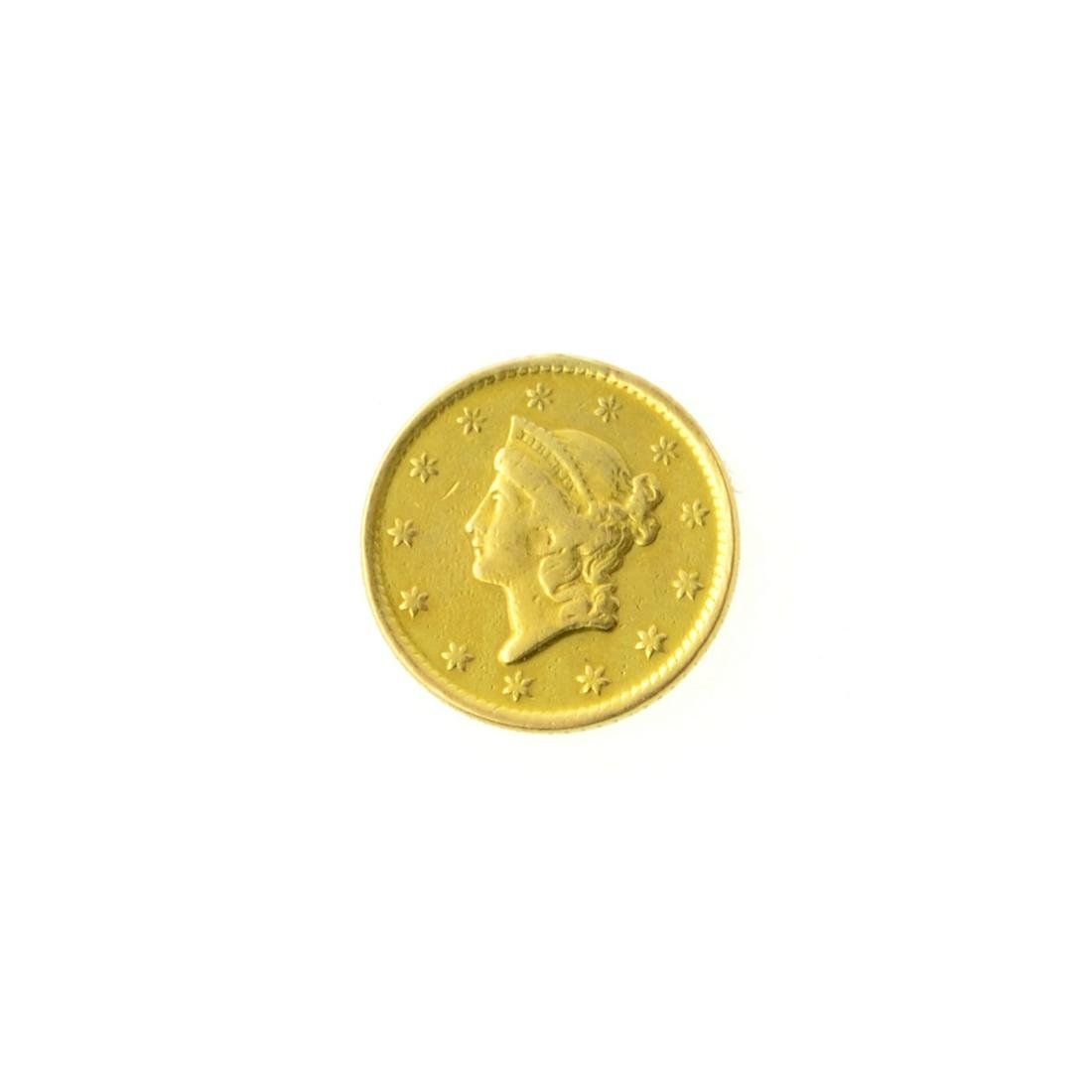 1849-O $1 U.S. Liberty Head Gold Coin