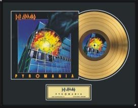 2722: DEF LEPPARD ''Pyromania'' Gold Record - Fan Favor